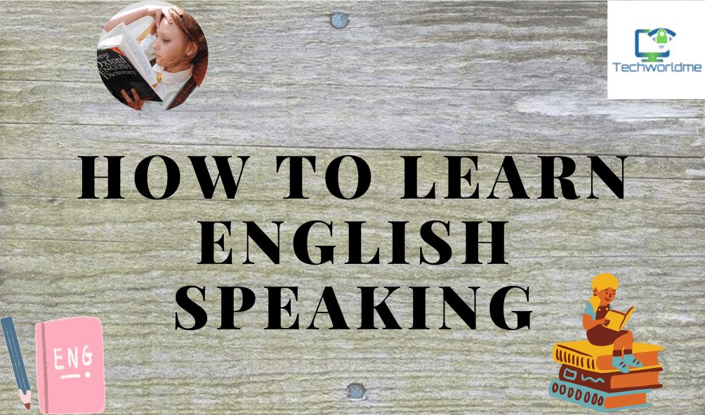 Learn English speaking